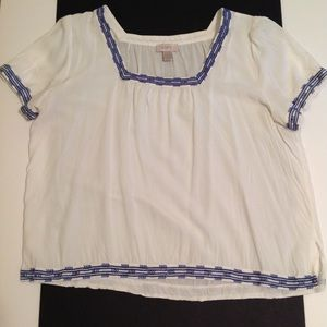 Square Necked Blouse